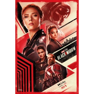 Постер Чорна Вдова Black Widow A3 09