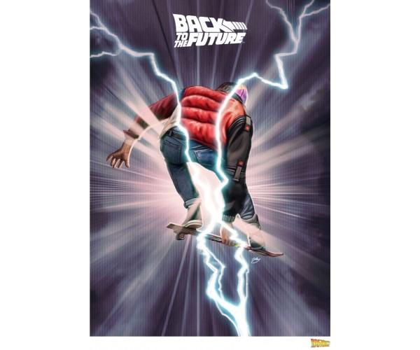 Постер Назад у майбутнє Back to the Future A3 05