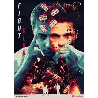 Постер Бійцівський клуб A3