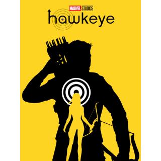 Постер Соколине Око Клінт Бартон Hawkeye A3 01