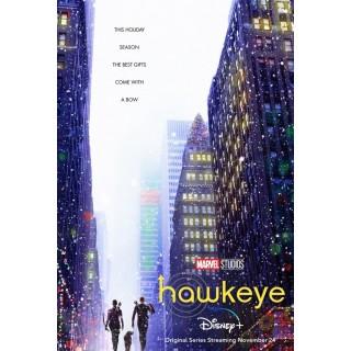 Постер Соколине Око Клінт Бартон Hawkeye A3 02