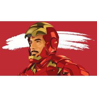 Постер Залізна людина Iron Man A3
