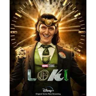 Постер Локі Loki A3 04