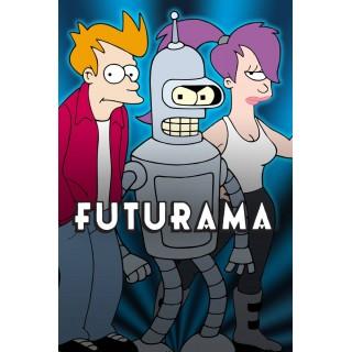 Постер Футурама Futurama A3 04