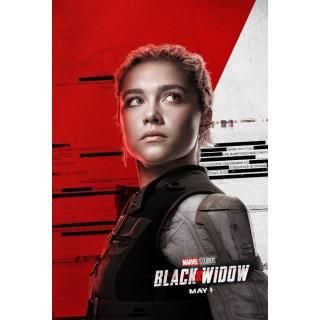 Постер Чорна Вдова Black Widow A3 11