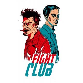 Постер Бійцівський клуб A3 02