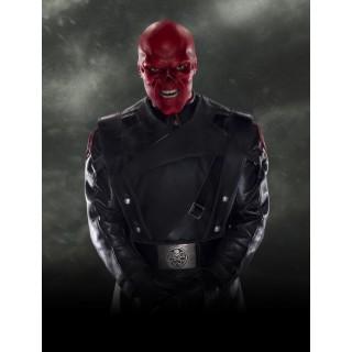 Постер Червоний череп A3