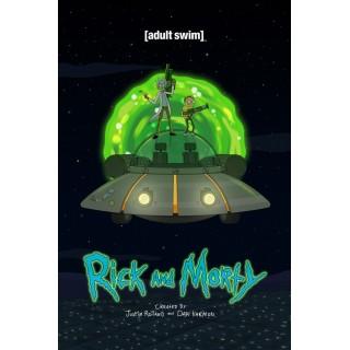 Постер Рік і Морті Rick and Morty A3 22