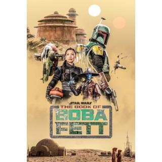 Постер Зоряні Війни Star Wars Боба Фетт А3