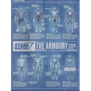 Постер Залізна людина Iron Man A3 01