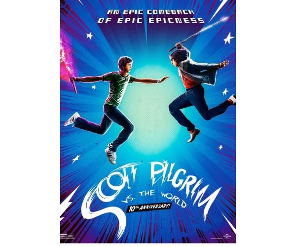 Постер Скотт Пілігрим Scott Pilgrim A3