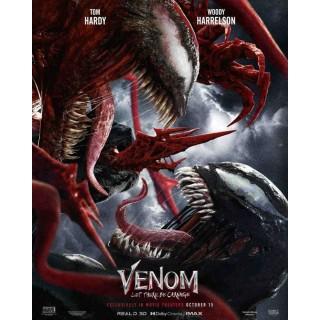 Постер Веном 2: Карнаж Venom: Let There Be Carnage A3 02
