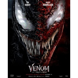 Постер Веном 2: Карнаж Venom: Let There Be Carnage A3 03