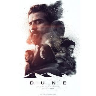Постер Дюна Dune A3 02