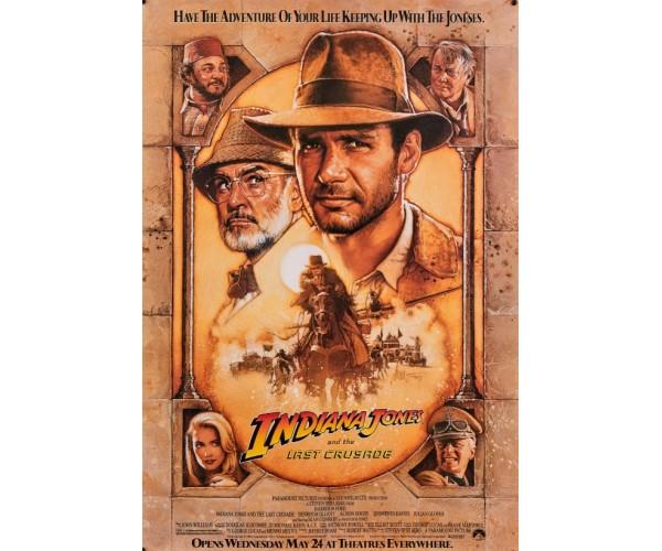 Постер Індіана Джонс Indiana Jones A3 02