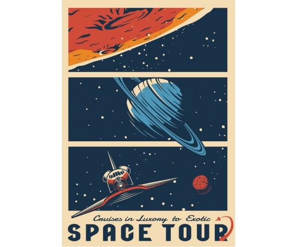 Постер Space Tour A3