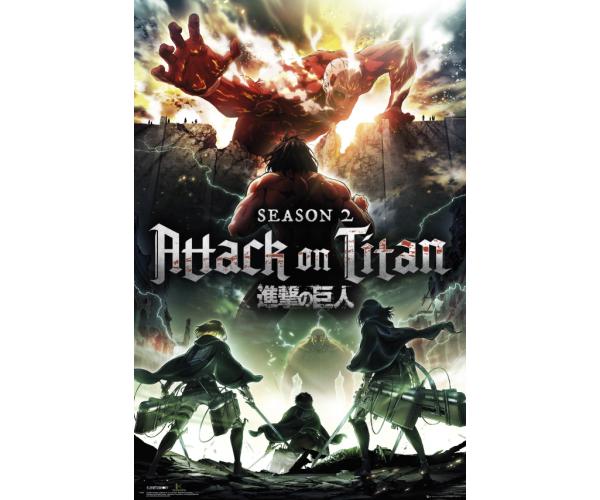 Постер Атака на Титанів Shingeki no Kyojin Attack on Titan A3 01
