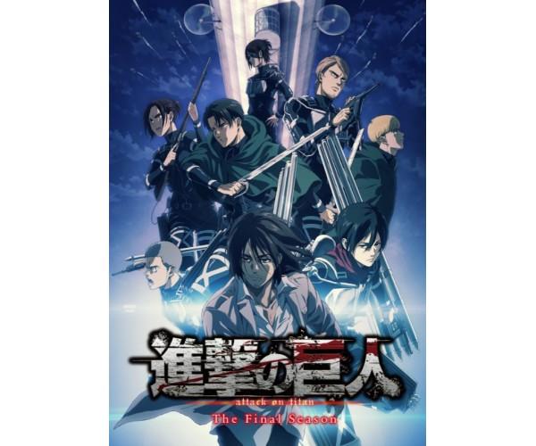 Постер Атака на Титанів Shingeki no Kyojin Attack on Titan A3 02