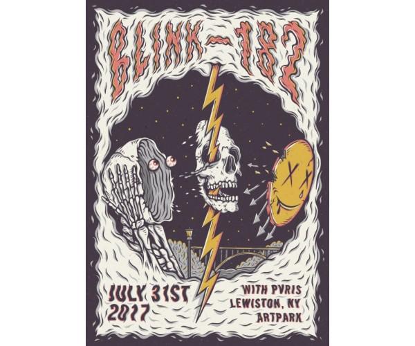 Постер Blink-182 А3 01