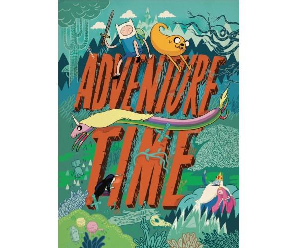 Постер Час пригод Adventure Time A3 01
