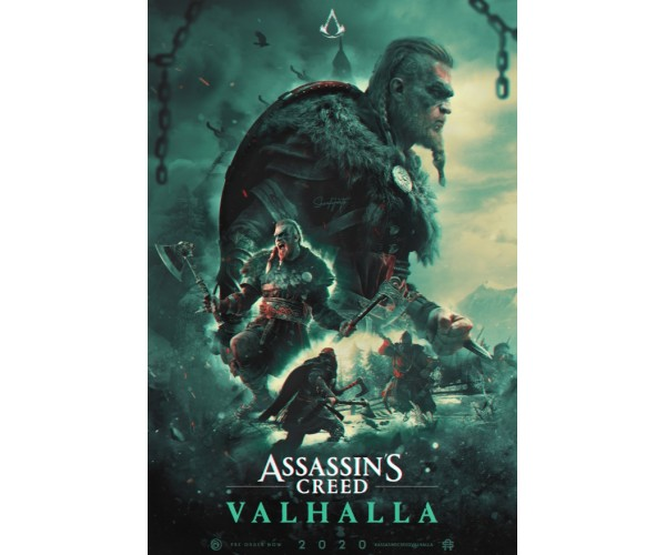 Постер Assassin's Creed Valhalla A3 06
