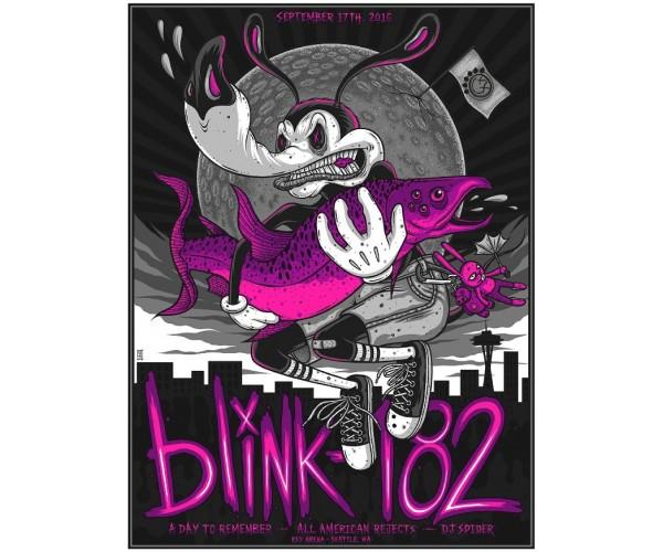 Постер Blink-182 А3 02