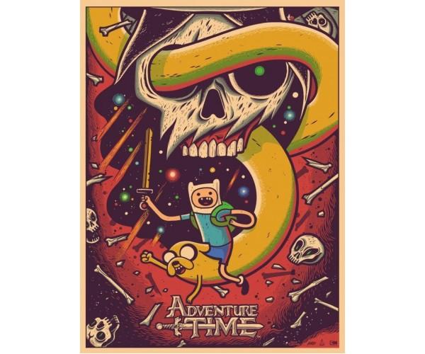 Постер Час пригод Adventure Time A3 02