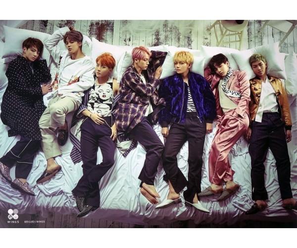 Постер BTS БТС A3