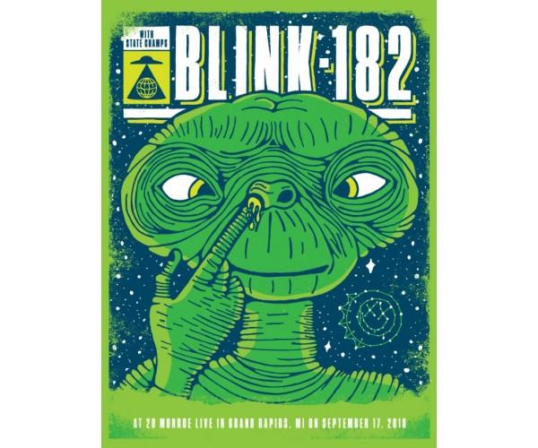 Постер Blink-182 А3 03