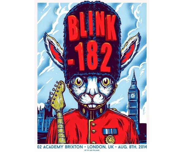Постер Blink-182 А3 04