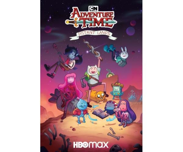 Постер Час пригод Adventure Time A3 03