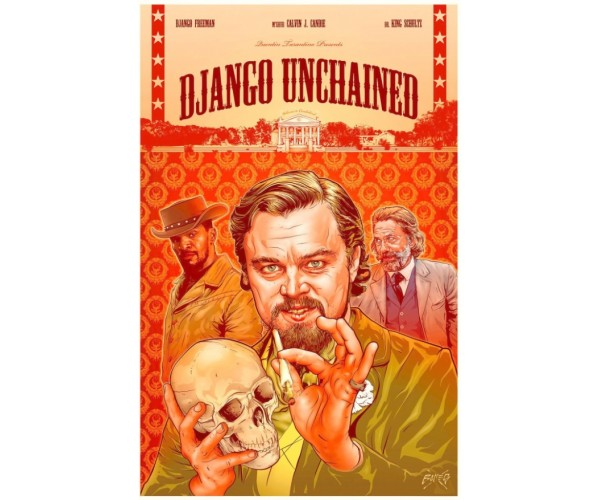 Постер Django Unchained Quentin Tarantino Movies Джанго A3