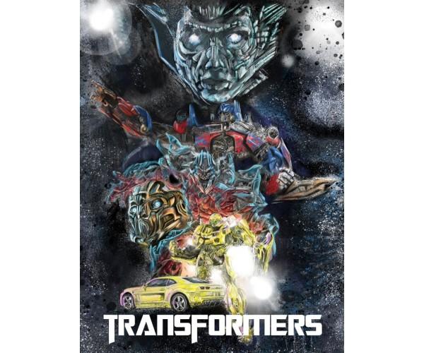 Постер Трансформери Transformers A3 01