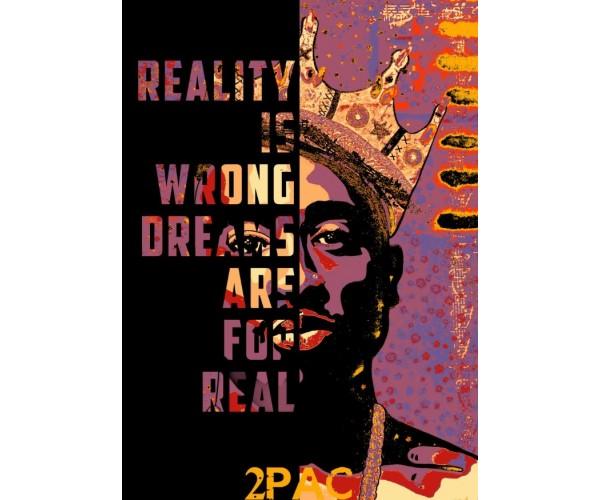 Постер Тупак Шакур 2Pac Tupac Shakur A3