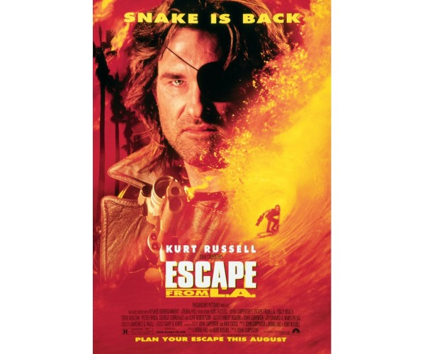 Постер Втеча з Лос-Анджелеса Escape from L.A. A3