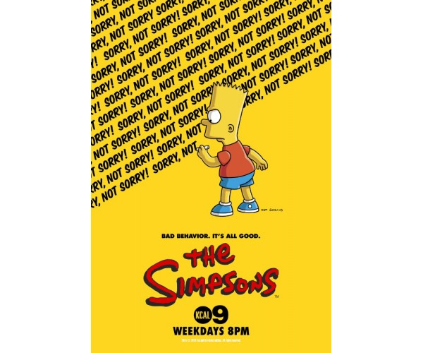 Постер Сімпсони The Simpsons A3 03