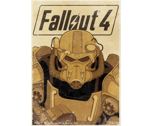 Постер Fallout A3 05
