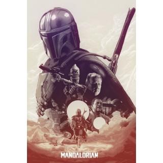 Постер Мандалорець Mandalorian A3 18