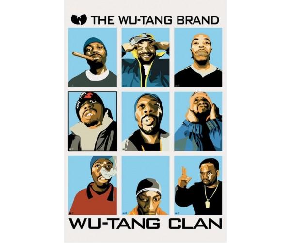 Постер Wu-Tang Clan A3 02
