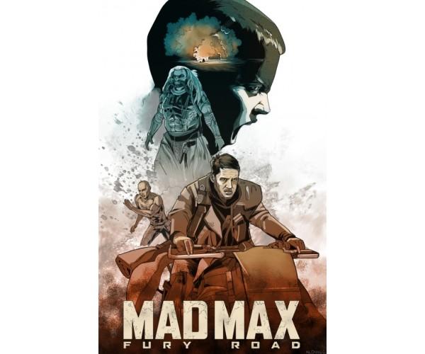 Постер Шалений Макс Mad Max A3 07