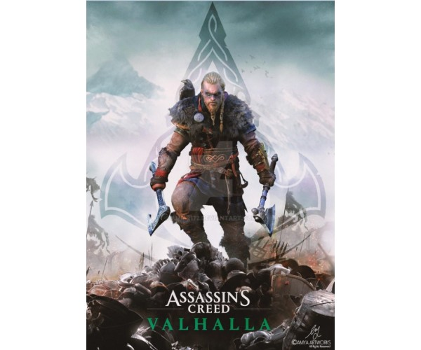 Постер Assassin's Creed Valhalla A3 07