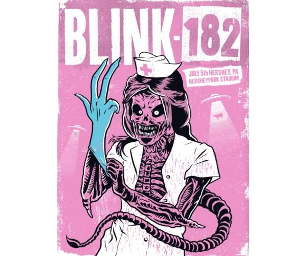 Постер Blink-182 А3 05