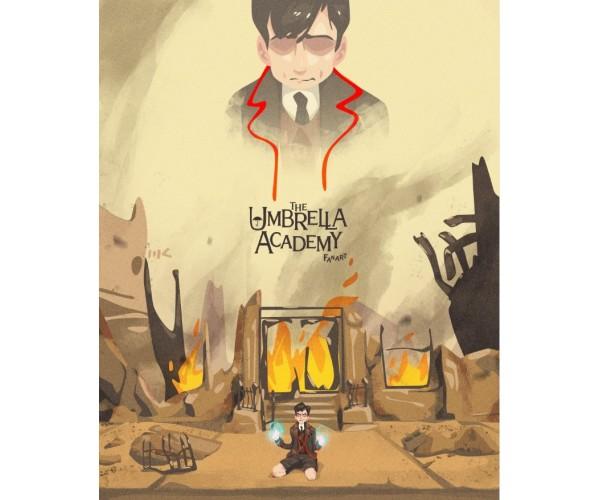 Постер Академія Амбрелла Umbrella Academy А3 04