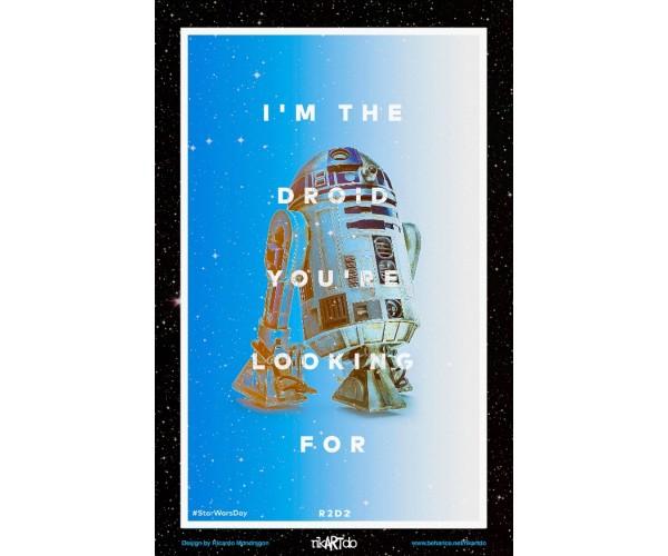 Постер Зоряні Війни Star Wars R2D2 А3 01