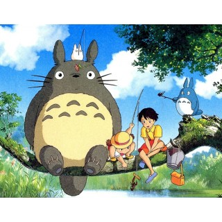 Постер Мій сусід Тоторо My Neighbor Totoro A3 03