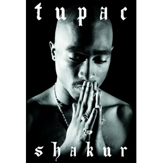 Постер Тупак Шакур 2Pac Tupac Shakur A3 01