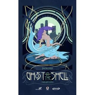 Постер Привид у броні Ghost in the Shell A3