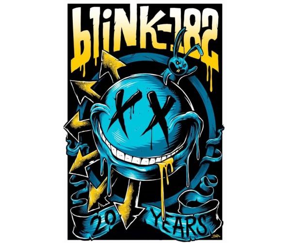 Постер Blink-182 А3 06