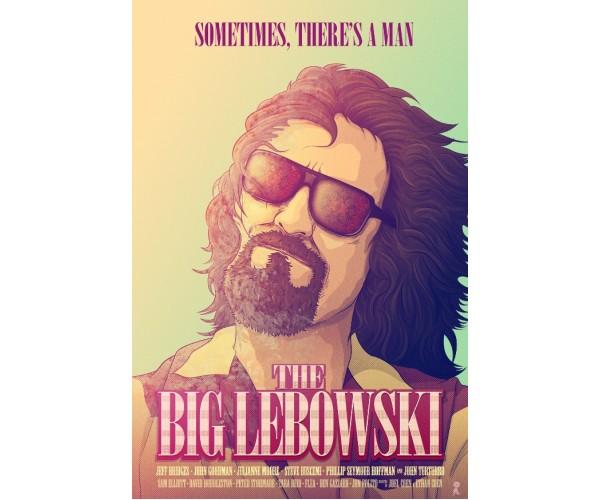 Постер Великий Лебовські The Big Lebowski A3 02