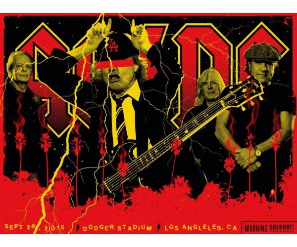 Постер AC/DC A3 01